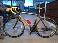 Carrera mens racing bike t6 as new