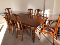 Victorian, Dining Table and Chairs