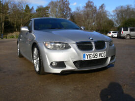 Lovely 325i M Sport Auto Coupe Great Spec, Full BMW Service History