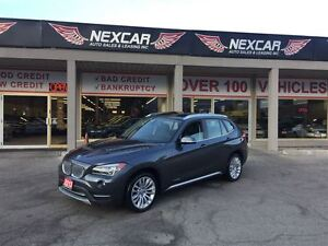 2013 BMW X1 X DRIVE AUT0 AWD LEATHER PANORAMIC ROOF 90K