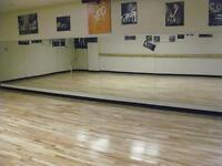 Dance Studio for rent