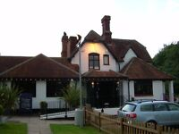 Chef wanted for busy country pub.