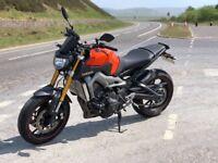 Yamaha MT-09 ABS Orange 2015 - Swap Preferred