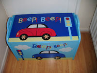 TOY BOX Solid Wood Chest very Sturdy