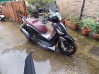 PIAGGIO BEVERLY ST350,2015, BLACK,ONLY 2400MILES,2 OWNERS,**FREE LOCK&CHAIN**REDUCED