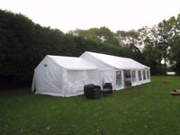Gala marquee 4m by 4m