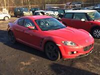 Mazda Rx8 1.4 2004 For Breaking