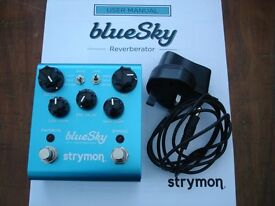GUITAR PEDAL'STRYMON BLUESKY'MINT COND.CONSIDER PART EXCHANGE FOR GOOD QUALITY OVERDRIVE PEDAL.
