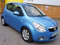 2010 AUTOMATIC VAUXHALL AGILA 1.2 PETROL 5 DOOR HATCHBACK 17.000 MILES ONLY