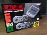 Brand-New Nintendo Classic Mini: Super Nintendo