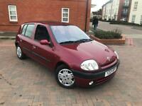 2001/Y RENAULT CLIO 1.4 etoile AUTOMTIC ONLY 35000 MILES !!!!2 LADY OWNERS!! LIKE NEW!!