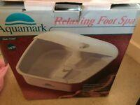 Aquamark foot spa