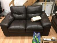 Comfortable Leather Couch