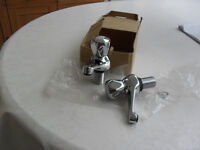 Set of Chrome Bath Taps