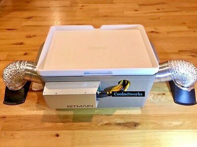 NEW Antminer Bitmain A3 T9 S9 L3+ Noise Suppressor Sound Proofing W/ Accessories for sale  Shipping to South Africa