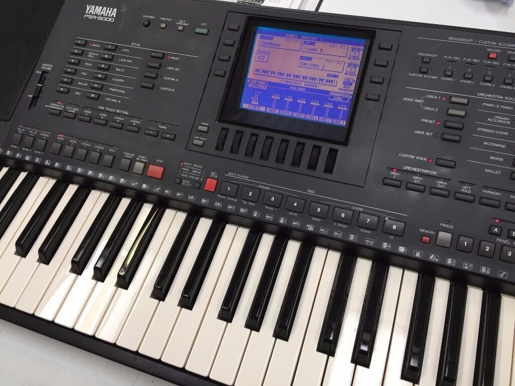 yamaha psr 6000 keyboard in blackburn lancashire gumtree. Black Bedroom Furniture Sets. Home Design Ideas