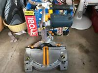 Ryobi Laser line Mitre Saw boxed with instructions can deliver in Hull area