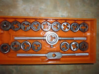 Tap and Die Set In Original 39 Piece Box
