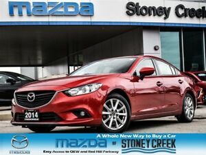 2014 Mazda MAZDA6 GS Auto SUN Lthr Heated Alloy B/UP CAM!