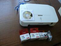 Canon Pixma iP2850 colour printer & spare ink cartridges