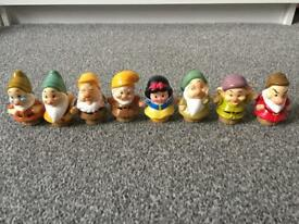 Disney little people 7 dwarfs and Snow White
