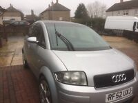 Audi a2 for sale or px cash my way may swap