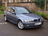 EXCELLENT DIESEL ESTATE!! 2004 BMW 3 SERIES 2.0 320d ES TOURING 5dr AUTO, FSH, LONG MOT, WARRANTY