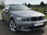 118 D Exclusive Edition 1 SERIES Coupe, 2013, 183 BHP, Low Mileage, Free Service