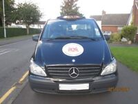 SALE OF BLACK MERCEDES HACKNEY UNDER LEICESTER CITY COUNCIL.