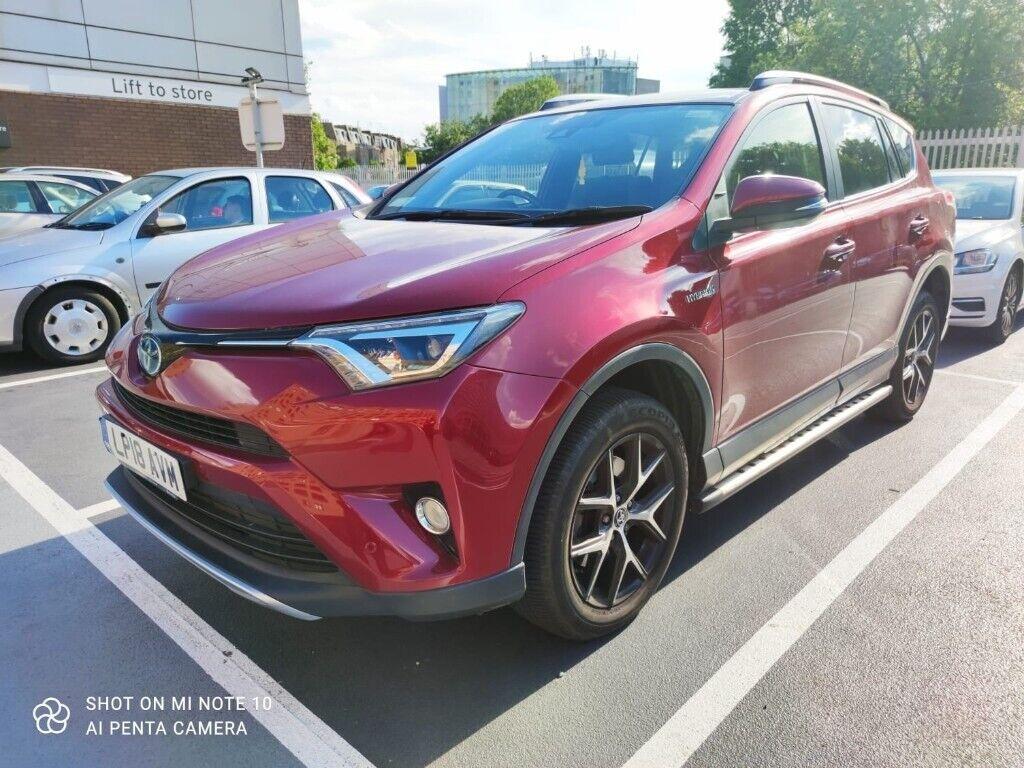 Toyota, RAV4 2018 ONLY 8200 MILES, WARRENTY AND NO ULEZ/LEZ