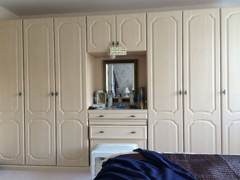 Mfi Bedroom Furniture Mfi Provence Wardrobes In Good Condition In Rustington West
