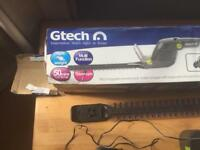 Gtech telescopic cordless hedge and other items trimmers