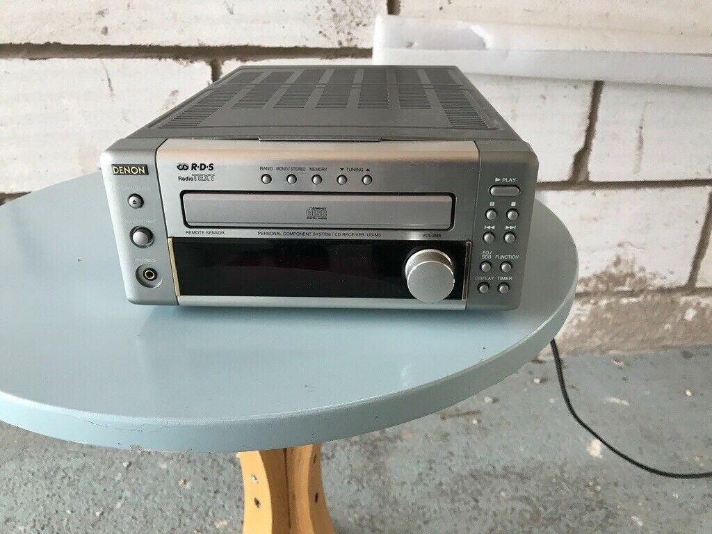 Denon RDS Fm tuner and CD player in excellent condition  | in Shrewsbury,  Shropshire | Gumtree