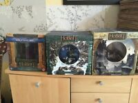 6 limited LOTR & The Hobbit bust DVD/Blu ray boxed sets