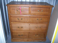 Large chest of drawers for upcycling