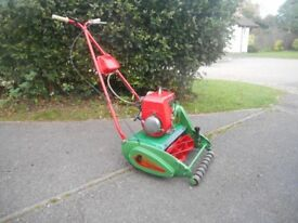 Vintage Suffolk Punch Petrol Mower