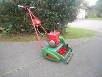 Vintage Suffolk Punch Petrol Mower