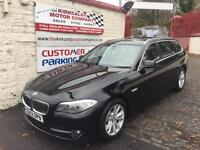 BMW 5 SERIES 520d SE (black) 2012
