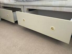 FREE- double divan bed with 4 big drawers