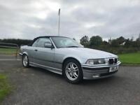 1997 BMW 328i Convertible E36 Full Years MOT Low Mileage Classic Car £1600
