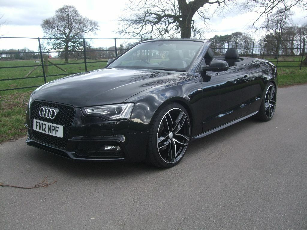 Audi a5 30 tdi quattro convertible for sale