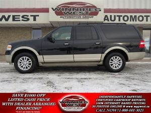 2010 Ford Expedition Max EDDIE BAUER 8 PASSENGER 4X4, LEATHER, B