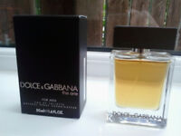mens dolce & gabbana the one 50ml (boxed not wrapped)