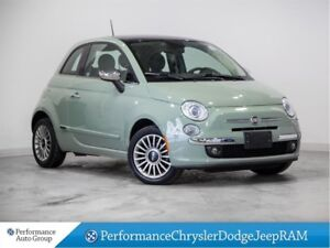 2014 Fiat 500 Lounge * Auto * Sunroof * Heated Leather Seats