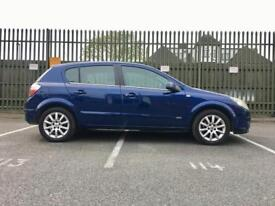 2005 VAUXHALL ASTRA 1.8 AUTOMATIC DESIGN – ONLY 62K WARRANTED MILEAGE, MOT, BLUE, 5 DOOR, PETROL