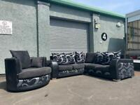 Corner sofa & cuddle chair delivery 🚚 sofa suite couch furniture
