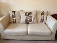 Small cream Sofa for sale