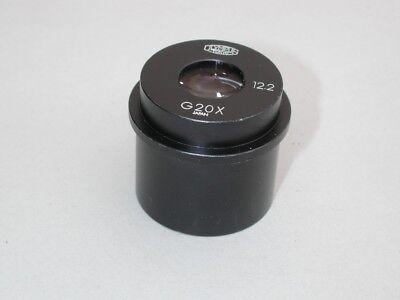 Olympus G 20x Eyepiece For Microscopes W 30mm Tube Size