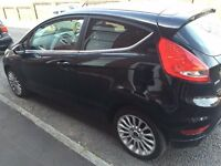 ford fiesta titanium tdci- low mileage with cruise control long mot and low tax