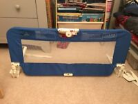Child's Babystart Bedguard in blue great condition